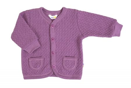 Lilla uld cardigan Wool Knit