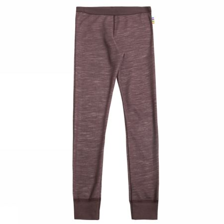 Leggings mørk bordeaux uld/bambus